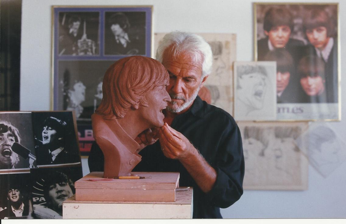 Jim Sculpts Lennon 1